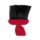 Кисточка для шеи Comair с нейлоновой щетиной, красная