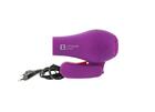 Компактный профессиональный фен для волос, фиолетовый