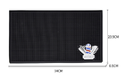 Силиконовый мат-коврик Barber 45-30см